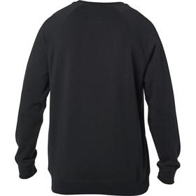Fox Apex Crew Fleece Pullover Men black/white